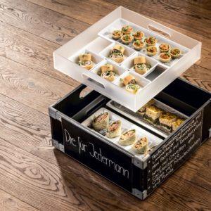 """""""Die für Jedermann"""" APERO Box by Mangosteen Catering"""