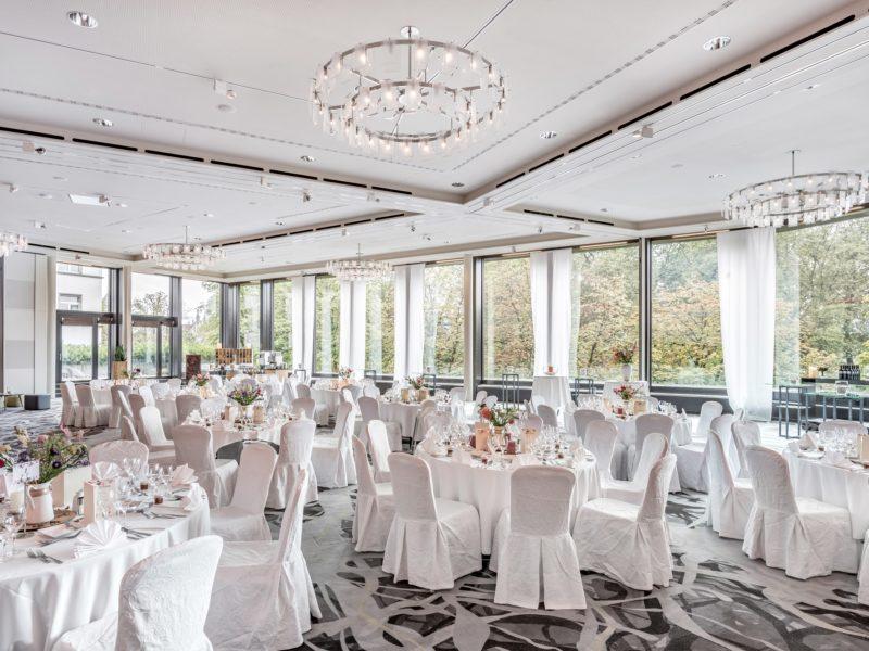 Hochzeitsfeier im Millennium Ballsaal, Zürich Marriott Hotel