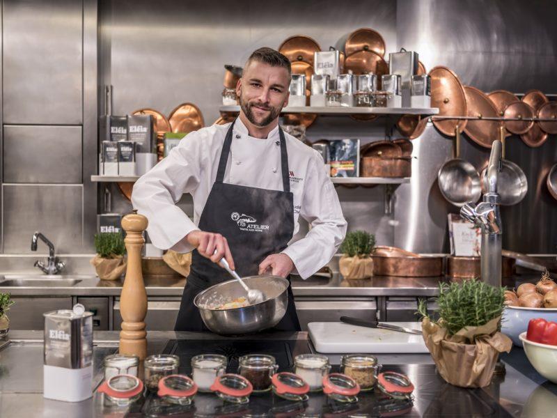 Atelier - Showküche im Zürich Marriott Hotel