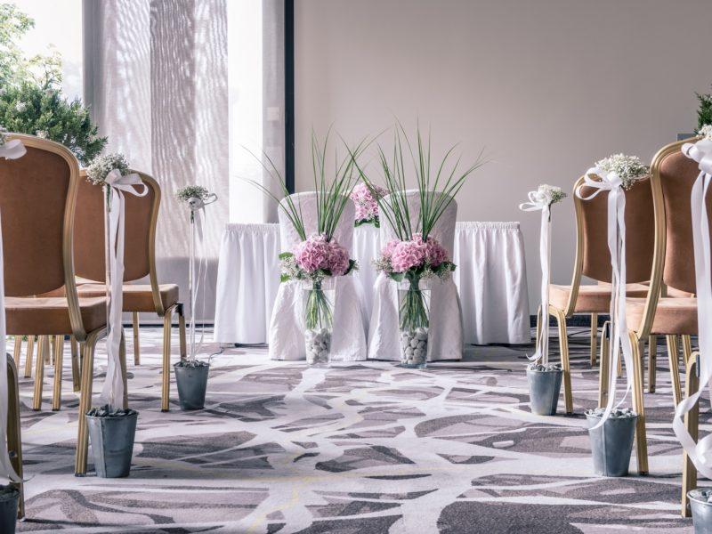 Trauung und Hochzeitszeremonie im Zürich Marriott Hotel