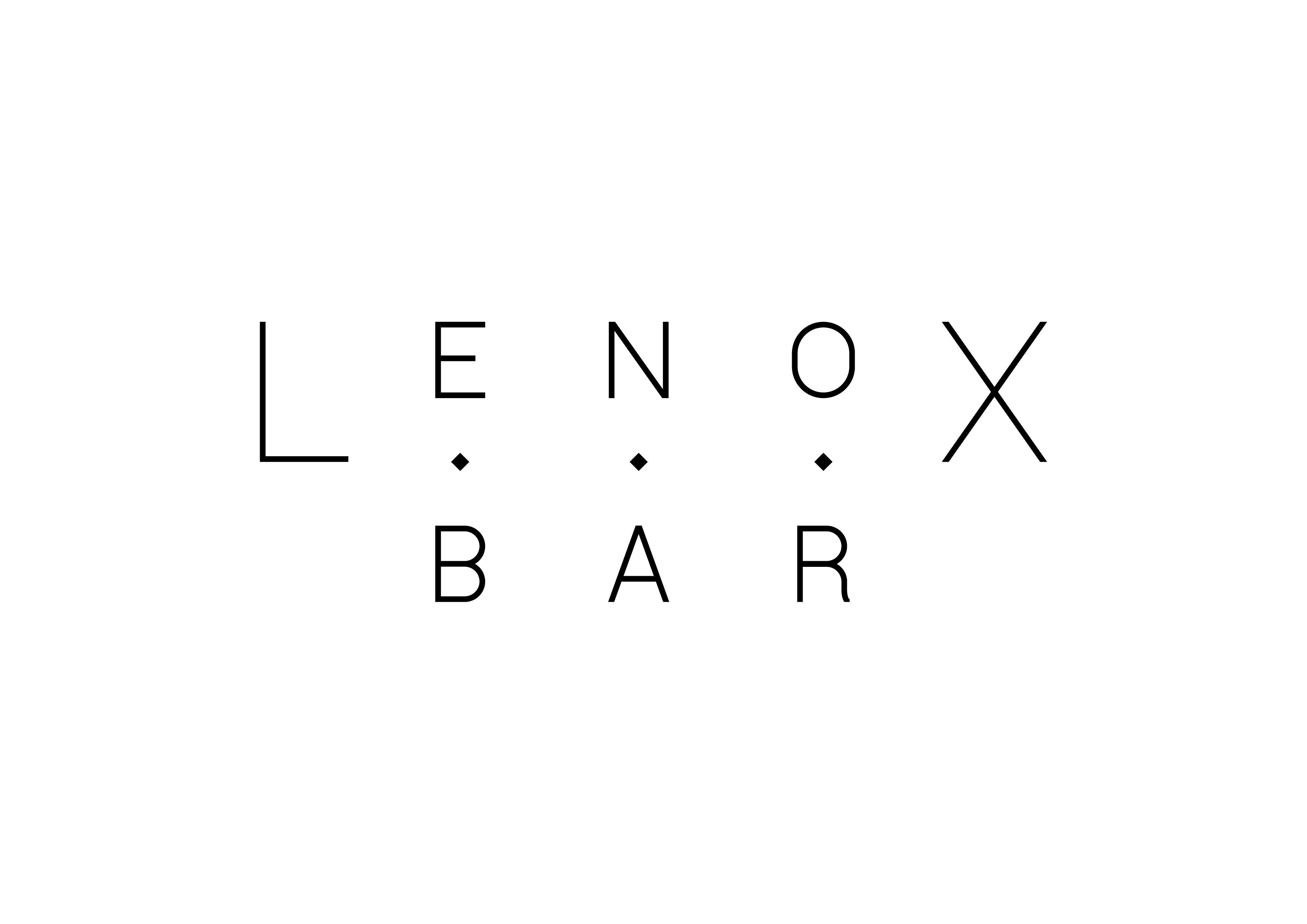 Lenox Bar Zürich Logo