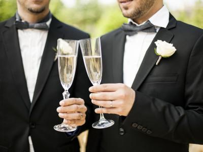 Gleichgeschlechtliche Hochzeitsfeier im Zürich Marriott Hotel