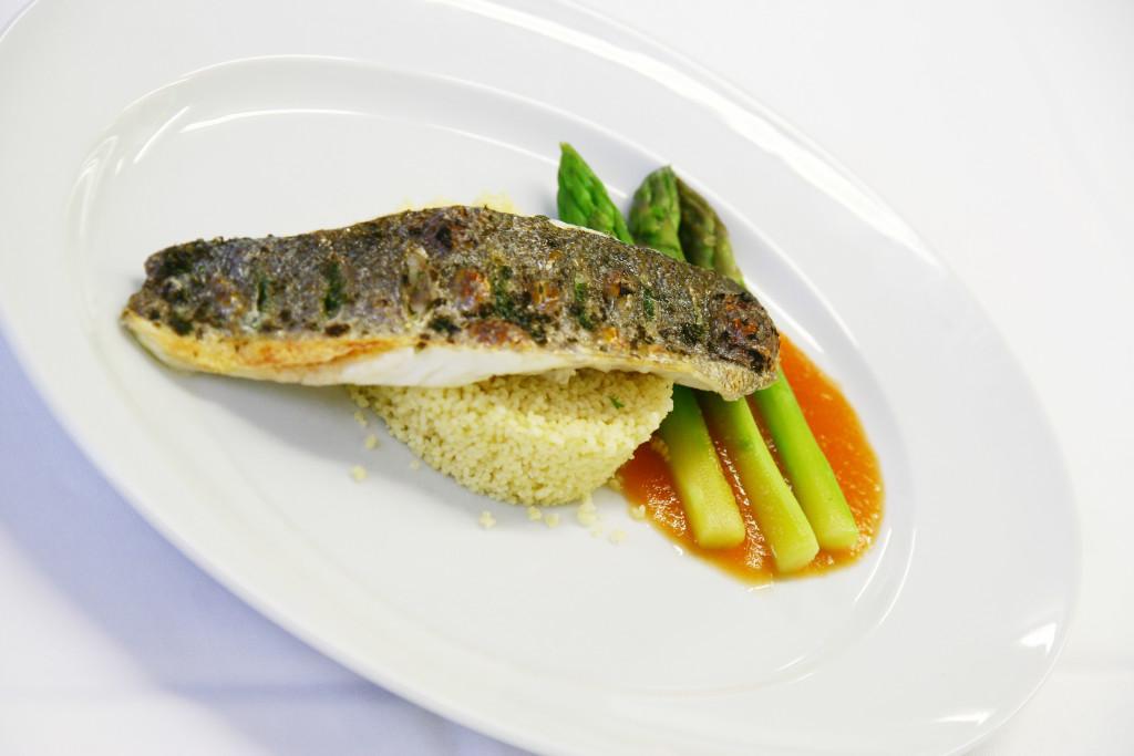 Zürich Marriott Hotel: Hochzeitsmenü Fisch