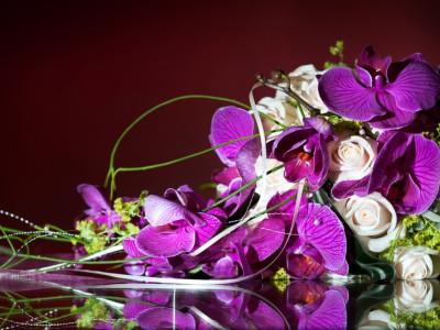 Zürich Marriott Hotel: Hochzeitsfeier Blumenschmuck