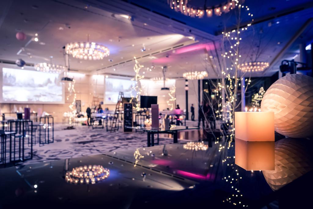 Weihnachtsfeier im Zürich Marriott Hotel