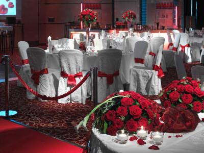 Zürich Marriott Hotel: Hochzeitsfeier im Millennium Ballsaal