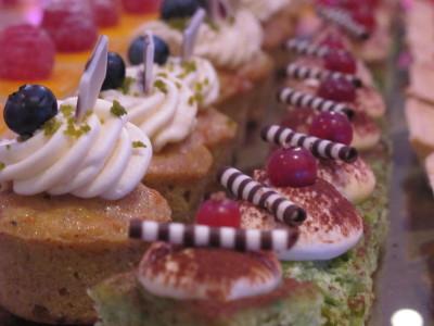 Zürich Marriott Hotel: Hochzeitsfeier Dessert