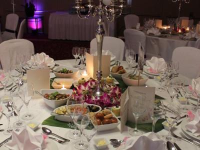 Zürich Marriott Hotel: Dekoration Hochzeitsfeier