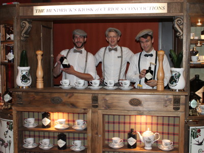 Zürich Marriott Hotel: Hendricks Gin Bar