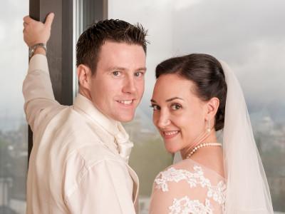 Wedding Karin and Oliver at the Zurich Marriott Hotel
