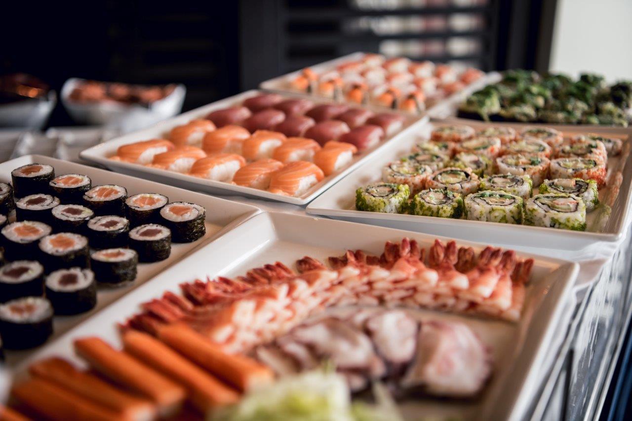 Marriott Sunday Brunch - Sushi