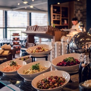 Marriott Sunday Brunch - Salat - Brunchbuffet