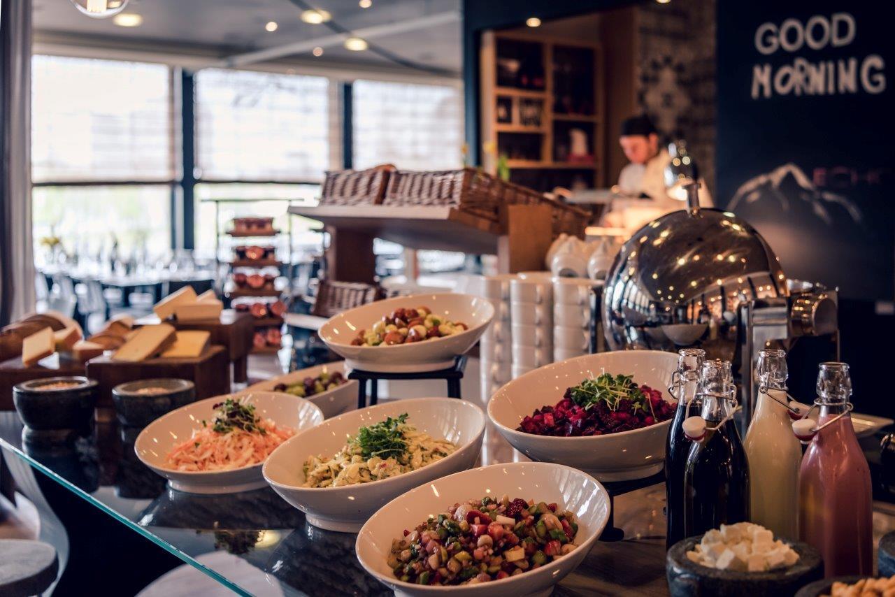 Marriott Sunday Brunch - Salat - Brunchbuffet