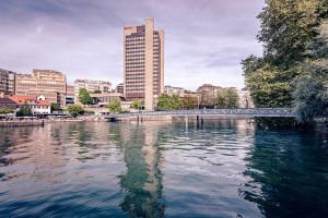 Das Zürich Marriott Hotel an der Limmat