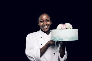 Hochzeitstorte aus der Patisserie des Zürich Marriott Hotels