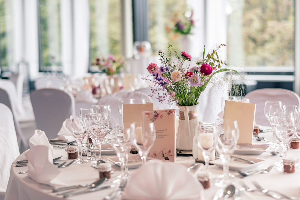 Hochzeit Tischdekoration - Zürich Marriott Hotel