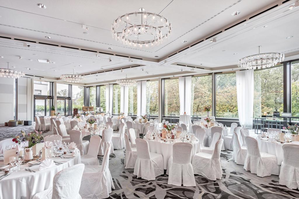 Hochzeit im Millennium Ballsaal, Zürich Marriott Hotel