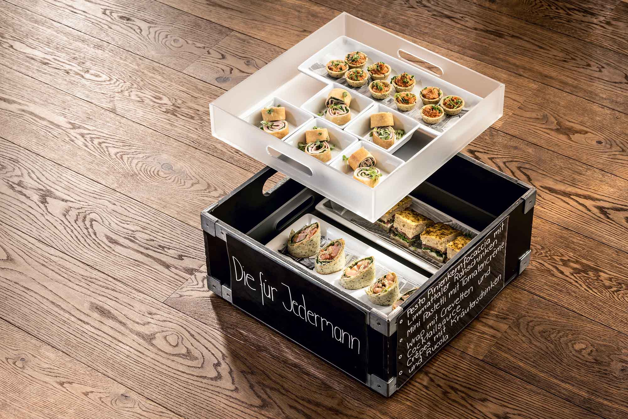 APERO BOX by Mangosteen Catering - Die für Jedermann