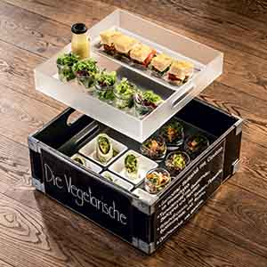 The Vegetarian APERO BOX