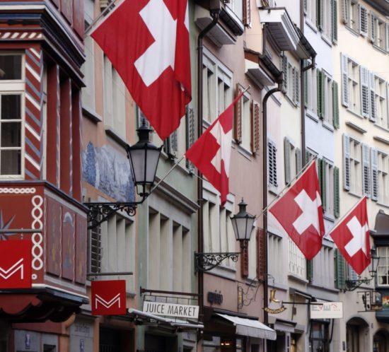 1. August in Zürich